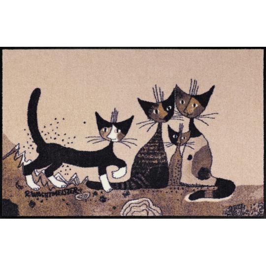 Fussmatte Serafino & Friends 50x75 cm