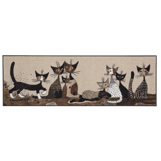 Fussmatte Serafino & Friends 60x180 cm