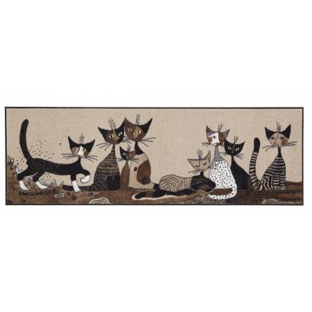 Fussmatte Serafino&Friends 60x180 cm