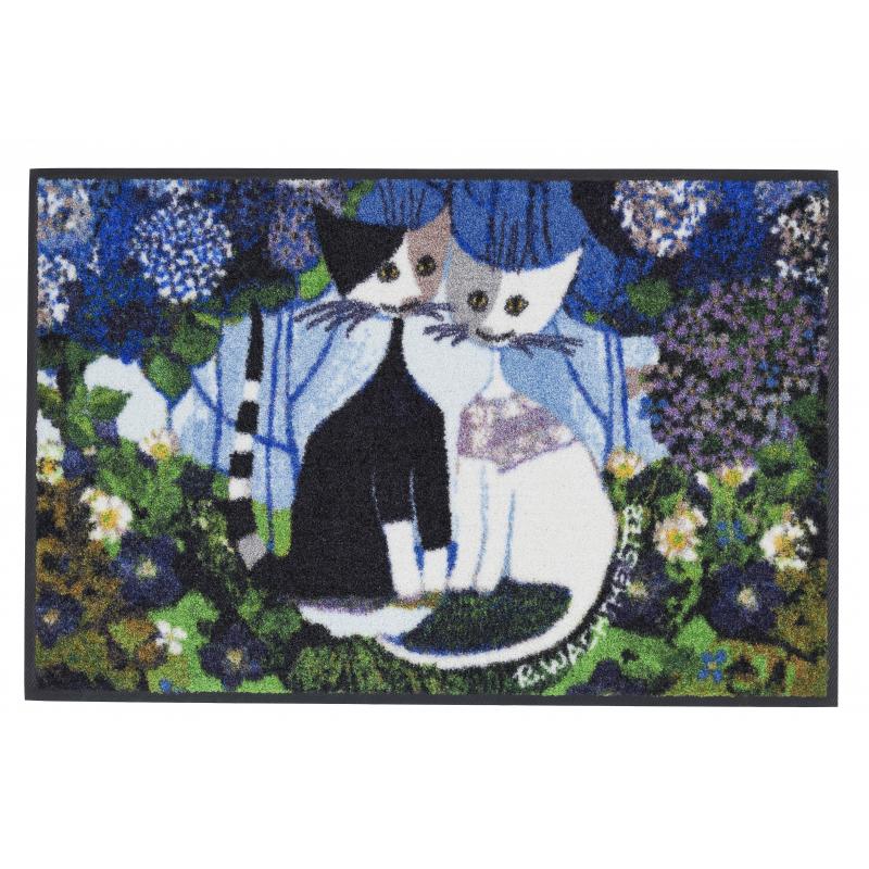 Design Fussmatte Wedding mit Katzen 50x75 cm
