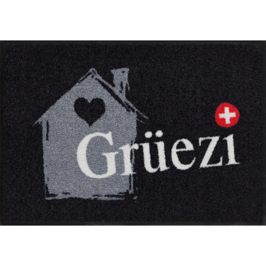 Fussmatte Grüezihaus 50x75 cm