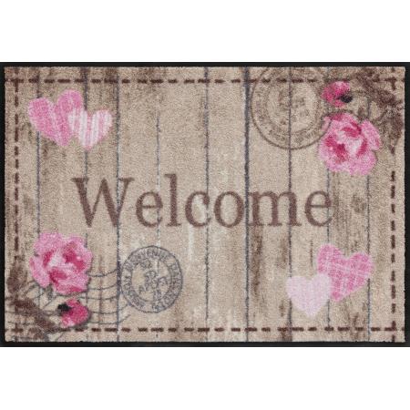 Fussmatte Welcome circolo bunt 50x75 cm