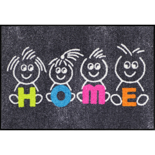 Fussmatte Kids Home 50x75 cm