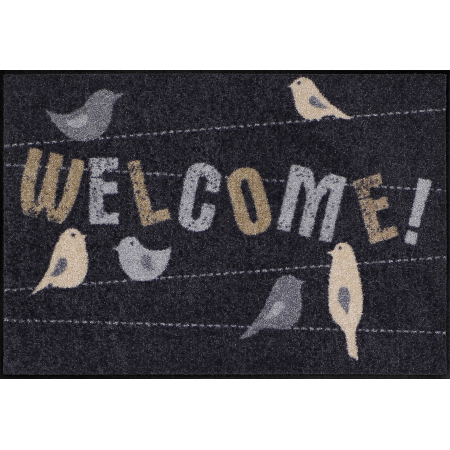 Fussmatte Welcome Birds 50x75 cm