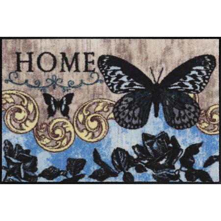 Fussmatte Papillon Bleu 50x75 cm