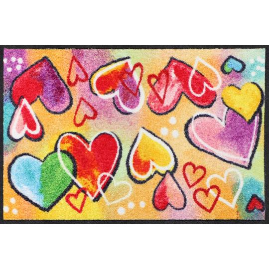 Fussmatte Heartbeat 50x75 cm