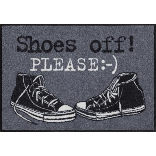 Fussmatte Shoes off 50x75 cm