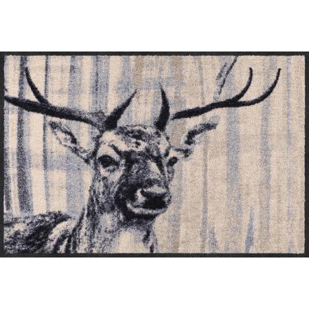 Landhaus Fussmatte Natural Deer 50x75 cm