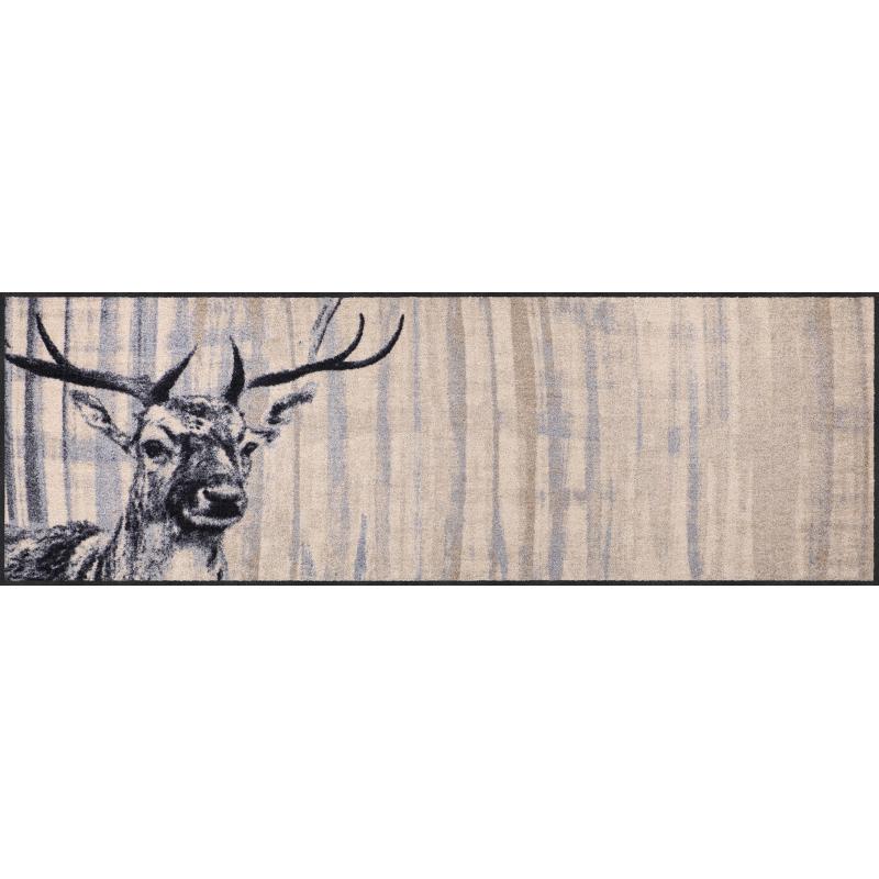 Landhaus Fussmatte Natural Deer 60x180 cm