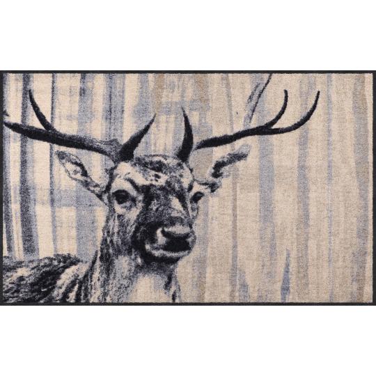 Landhaus Fussmatte Natural Deer 75x120 cm