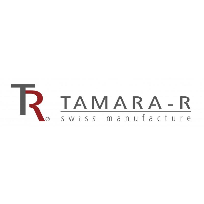 Tamara R Selection Satin Bettwäsche Garnitur Vanessa weiss blau double face