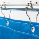 Duschvorhangringe