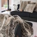 Kunstpelz- Textil Kissen